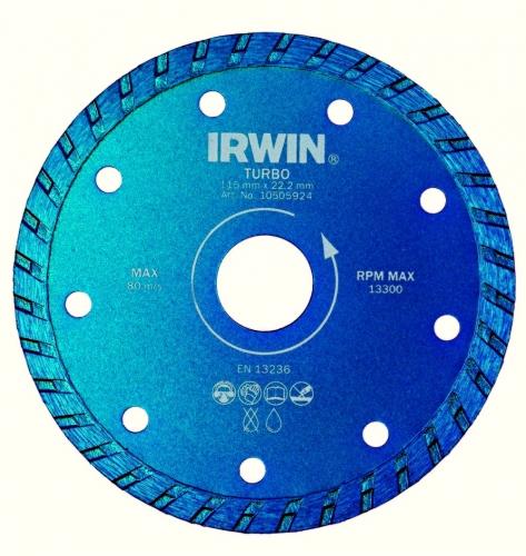 IRWIN Diamantový kotouč Turbo 230mm