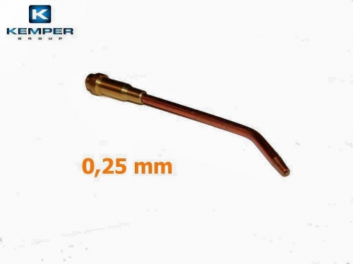 Mini autogen-mikro hubice 0,25 mm