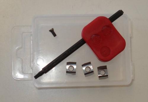 ND sada nožů (3ks) pro orbitální škrabky SCR