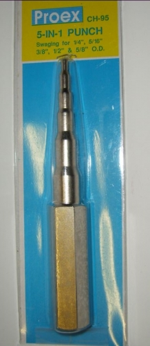 NIPO Expander manuální 1/4 -5/8˝ - 6,8,10,12,16 mm