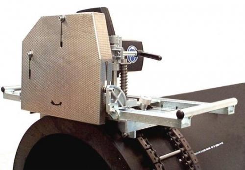 Pila na plastové roury KS 1600, Ø 500-1600mm