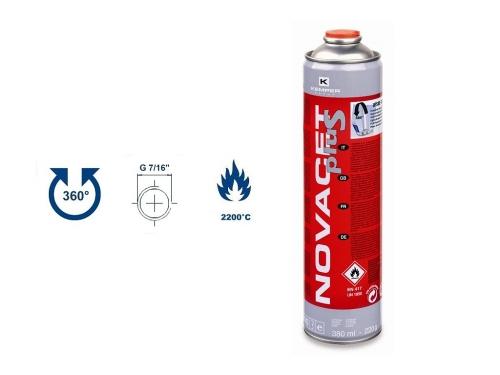 Plyn Novacet Plus 380ml, EU 7/16˝