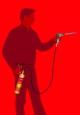 Propojovací hadice 1,5m na hořáky s US závitem