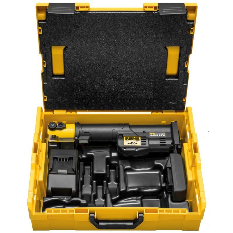REMS Mini-Press S 22 V ACC Basic-Pack, L boxx - Lisování - Nipo Tools s.r.o.