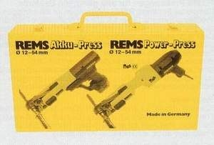 REMS Plechový kufr  Akku-Press