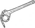 Ridgid Hasák C-12 řetězový 2˝