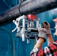 Ridgid HC 450-Vrtačka na potrubí