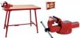 RIDGID Montážní stůl se svěrákem 120mm