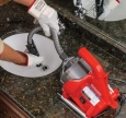 Ridgid PowerClear, Motorová odtoková čistička