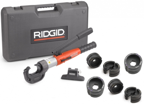 RIDGID RE 130-M + sada matric DIN−CU