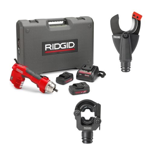 Ridgid RE60 + LR-60B + SC-60C (krimpovací a řezací hlava)