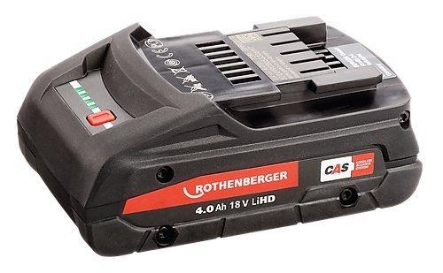 Rothenberger BP18/4 - 18V / 4.0Ah, Li-HD
