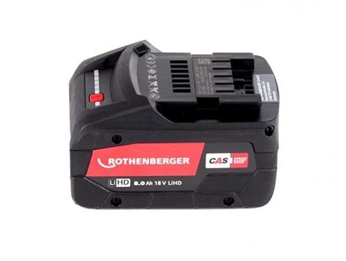Rothenberger BP18/8 - 18V / 8.0Ah, Li-HD