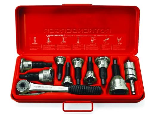 Rothenberger Vyhrdlovací set 10-12-14-16-18-22mm