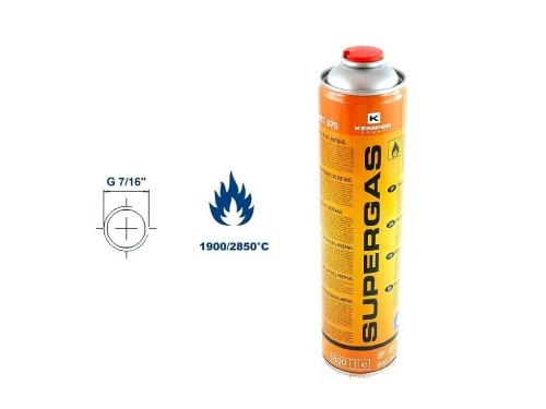 SUPERGAS, mix PB, 600 ml, 336g, 7/16˝
