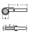 Virax páskový hasák 350mm (14˝)