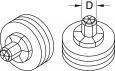 VIRAX Rozšiřovací hlava Cu 8mm